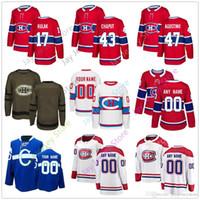 Wholesale classic winter jersey montreal resale online - Brett Kulak Michael Chaput Kenny Agostino Jersey Men Women Youth Kid Winter Classic Montreal Canadiens Salute to Service Cheap