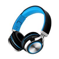 Wholesale hi fi gold resale online - New Arrive Headphone Wired mm Stereo Over Headband Hi Fi Audio Casque Mp3 Headphone Music Player Foldable Headset Large Headphones