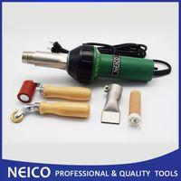 Wholesale welder free shipping resale online - New Hot Air Welding Heat Gun Kits V V W Hand Plastic Welder Of Hot Air Tools