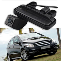 Wholesale car rear view reversing resale online - Special Car Rear View Reverse Backup CCD Camera Rearview Parking for E Class B180 B200 W246