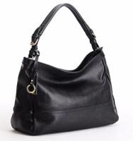 женские кожаные сумки hobo оптовых-Совершенно новый высококачественный женский европейский и американский натуральная кожа леди натуральная телячья кожа бродяга роскошная сумка сумка кошелек y99