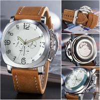 relojes de diseño mecánico al por mayor-Big dial Relojes de pulsera mecánicos de lujo para hombres Marca Estructura de espalda transparente diseño festival hombre casual cuero Relojes deportivos