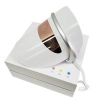 mavi göz maskesi toptan satış-LED cilt gençleştirme güzellik Maskesi Kırmızı Mavi Sarı göz masaj fonksiyonu ile LED ışık tedavisi