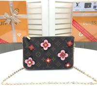Wholesale free hot females for sale resale online - Fashion design Leather Bag for women bag shoulder bags for female hot sale size cm M63905