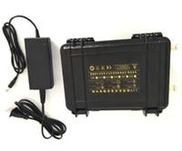 Wholesale 12v li ion charger resale online - Waterproof v ah lithium ion battery v ah li ion batteria USB port for LED light backup power explore A charger