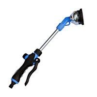 Wholesale garden irrigation tools resale online - Nine Function Long Rod Sprinkler Garden Irrigation Watering Car Wash Jet Cleaning Tool