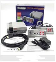 klassisches bluetooth großhandel-HDMI Mini Classic TV Spielekonsolen CoolBaby 600 Modell Video Game Player für 600 NES HD Spielekonsole Geburtstag Weihnachten Weihnachtsgeschenk heißer Verkauf