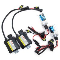 Wholesale hid xenon kit 55w h1 resale online - 35W W V Xenon Light Bulb Car Headlight H1 H3 H7 H11 k k k k HID Slim Ballast Xenon Headlamp Kit
