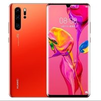 fhd ekranı toptan satış-Orijinal Huawei P30 Cep Telefonu 6.1 inç Tam Ekran OLED FHD + Kirin 980 Smartphone NFC OTG GPS Android 9.1 Telefon