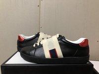 sapatos de vestido marrom para as mulheres venda por atacado-Chegou novo luxo homem mulheres vestido de tênis com listras de elasticidade marrom top quality designer de luxo sapatos vermelho branco preto tamanho 34-46!