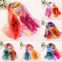 новые красивые шарфы оптовых-New Arrival Fashion Women Long Soft Wrap scarf Ladies Shawl Scarf Scarves Women Tippet Beautiful Curve Appearance Poncho Stole