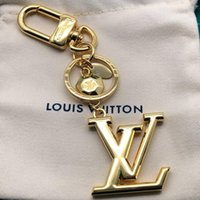 Wholesale electronic face resale online - Top Quality Luxury Designer keychain key chains Fashion Accessories Bag ornaments pendant bag car pendant gift box packaging M65216