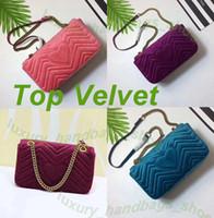 новые прибывшие сумочки оптовых-Love heart Wave Pattern НОВЫЕ ПРИБЫТНЫЕ роскошные сумки женские сумки дизайнерские маленькие мессенджер Велюровые сумки feminina бархатные женские сумки 446744