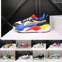 zapatos casuales de marca al por mayor-2019 La última combinación de colores Desiner Sneakerx Puma Transformers RS-X Runner zapatos retro de coco para correr marca de marea para hombre calzado deportivo casual