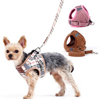 Wholesale rope collars for dogs resale online - Luxury Pet Collar Chain Puppy Collars Cute Pet Harnesses For Small Dog Collar And Leash Sets Large Dog Vest Traction Rope