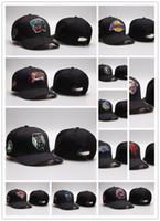 прикольные хип-хоп шляпы оптовых-2019 новый мужской женский баскетбол Snapback Бейсбол Snapbacks все команды футбольные шляпы хип-хоп Спорт Hat Mix Order мода открытый cap 10000+