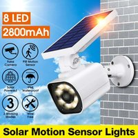 Wholesale garden camera for sale - Group buy Fake IP Camera Solar Powered Lamp Outdoor Simulation Dummy Camera Waterproof Solar Induction Garden Light Wall Light LED