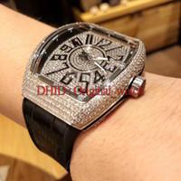 часы sc оптовых-54 мм Мужчины Женщины часы роскошные часы дизайнер Италия коровьей резиновый ремешок 316L высокое качество Staniless стальной корпус V45 SC DT модные часы