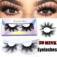 Wholesale beautiful lashes for sale - Group buy Dramatic Handmade D Mink lashes mm Lashes cruelty free Wispies Fluffies False Eyelashes Makeup Beautiful Mixed Styles