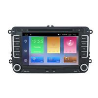 autoradio gps androïde vw achat en gros de-Android 9.0 DSP voiture lecteur DVD radio pour VW golf 4 golf 5 6 siège touran passat B6 jetta caddy transporteur t5 polo tiguan