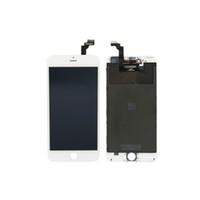 iphone6 plus apple оптовых-Для iPhone6 Plus ЖК-дисплей высокого качества без битых пикселей с сенсорным экраном дигитайзера с рамкой с мелкими деталями