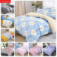 Wholesale comforters quilts bedspreads for sale - Group buy NEW Classical Duvet Cover Bedding Set Adult Soft Cotton Bed Linens Double Queen King Size Quilt Comforter Pillow Case Bedspreads