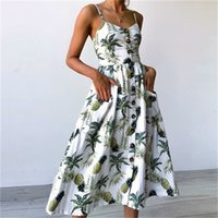Wholesale cute casual dresses for winter resale online - kQzPm New Arrival Dress Dresses with Printed Fashion Summer Cartoon Womens Dresses for Cute Casual Streetwear Womens Size M XL