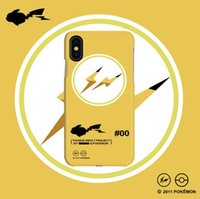 ingrosso mela pikachu-Custodia per cellulare Fujiwara Custodia per cellulare Apple Japan marca iPhone 7P Pikachu per iPhone xs max