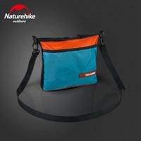 сумка pack путешествие водонепроницаемый оптовых-Naturehike Ultralight Outdoor City Bag Waterproof Shoulder Bag Outdoor Leisure Pack 6 Colors Unisex Pack Travel Leisure