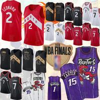patchs de maillots de basket achat en gros de-NCAA Kawhi Jersey 2 Leonard Pascal 43 Siakam Vince Carter 15 Kyle Lowry 7 Tracy McGrady 1 ajouter des maillots de basket-ball finale patch