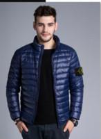 artı boyutu kışlık katlar toptan satış-26b NRAND Erkekler Kış Ceketler Mont ERKEK Aşağı Ceket Açık Kapşonlu Kürk Erkek Kalın Fnner Parkas Artı Boyutu Ünlü L-4XL