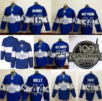Wholesale toronto maple leafs centennial classic jersey for sale - Group buy 2019 Toronto Maple Leafs Hockey Jersey Anniversary Patch Centennial Classic Hockey Jersey Rielly Mitch Marner Frederik Andersen