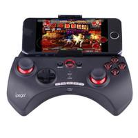 controladores de juego joysticks para pc al por mayor-IPEGA PG-9025 Gamepad PG 9025 Consola de juegos inalámbrica Bluetooth Teléfono Controlador de juegos con joystick Para Android / iOS Teléfono inteligente PC TV Box