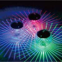 cor da piscina de mudança de luz solar venda por atacado-Piscina À Prova D 'Água LED de Energia Solar Multi Cor Mudando Água Drift Lâmpada Luz Flutuante Dropshipping # 0409