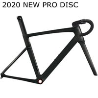 Wholesale carbon fibre road racing bicycles for sale - Group buy 2020 High quality sales T1000 pro disc disk brake carbon road frame cycling bicycle racing for Mechanical groupset and Di2 groupset