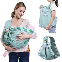 honda usada al por mayor-Abrigo para bebé Sling neonatal Uso dual Cubierta de enfermería Portador Tela de malla Portadores de lactancia materna Hasta 130 lb (0-36 m) Y190522