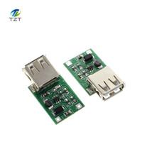 usb boost converter großhandel-Freeshipping 100 STÜCKE 0,9 V ~ 5 V zu 5 V 600MA USB Ausgang ladegerät verstärken Power Module Mini DC-DC Aufwärtswandler
