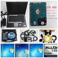 Wholesale 2tb laptops for sale - Group buy Alldata VAS A ODIS V5 Full OKI Chip bluetooth and ICOM NEXT mb star c5 Diagnostic Scanner with D630 laptop win7 TB HDD