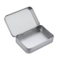 ingrosso palette usb-Strumento durevole di stoccaggio di USB della scatola di latta pratico per il compatto portatile leggero dei gioielli di rettangolo del distintivo