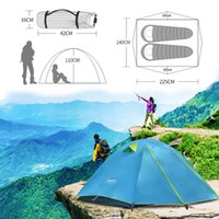 Wholesale extend pole resale online - Professional Field Equipment People Camping Tent Aluminum Pole Ultra Light Outdoor Anti Storm Extension Camp Double Layer