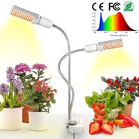 ingrosso molto chip-45W Dimmer Timer Clip USB LED Coltiva la luce per piante d'appartamento Idroponica Garden Home Office Coltiva l'illuminazione