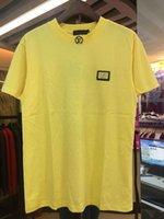 secadora de ropa encogible al por mayor-19SS hombres diseñadores camiseta multi-letra impresión de moda anti-encogimiento de secado rápido de lujo de los hombres marcas de ropa de diseñadores
