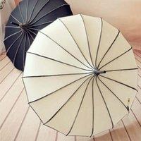 güneş şemsiyeleri düğün toptan satış-Vintage Pagoda Şemsiye Gelin Düğün Parti Güneş Yağmur UV Yağmur Şemsiye