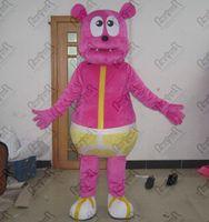 teddybär karikatur rosa groihandel-Cartoon rosa Baby-Bären-Maskottchen-Kostüme des neuen heißen Verkaufs Qualitäts Teddybär Kostüm spole STAR-Maskottchen-Kostüm
