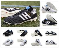 sınırlı sayıda futbol toptan satış-2019 Yeni Copa 70Y FG Siyah / Beyaz / Kırmızı 70 Yıl sınırlı sayıda Erkek Primeknit Copa Mundial Futbol Futbol Ayakkabı Bot