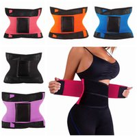 Wholesale waist supports for sale - Group buy Body Shapers Unisex Waist Trimmer Tummy Slimming Belt Waist Trainer For Men Women Postpartum Corset Shapewear LJJZ521
