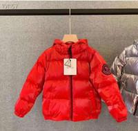 ingrosso migliori cappotti di marca di marca-la migliore spedizione nuovo arrivo M marchio ragazzi inverno piumino per le ragazze giù parka giù luce calda grandi bambini cappotto ragazzi ragazze vestiti 3T-11T
