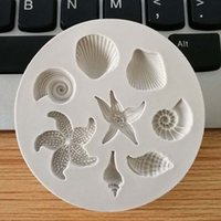 Wholesale cake mold for sale - Group buy 3D Ocean Biological Conch Sea Shells Chocolate Cake Silicone Mold DIY Chocolate Mold Kitchen Liquid Cake Tools cm Free