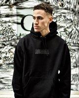 elmas hoodie toptan satış-Yeni 19ss Kutusu Elmas Kapüşonlu Moda Klasik nakış mektup marka kazak tişörtü polar Hoodie