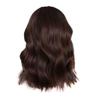 extensiones de cabello humano brasileño pelucas al por mayor-2018 nuevas Mujeres Corto Negro Rizado Bobo Peluca Brasileña Peluca Completa Bob Wave Natural Wigshair herramientas de diseño extensiones de cabello humano